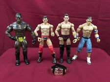"WWE 7"" Action Figures Lot 12 Mattel & Titan Tron and 5 Ladders"