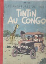 TINTIN AU CONGO NOIR ET BLANC A 18 OCTOBRE 1942
