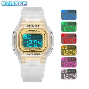 Sport Digital Watch Waterproof Electronic Wrist Watch Luminous Alarm Stopwatch