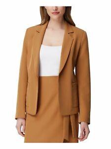 TAHARI Womens Brown Blazer Size: 16