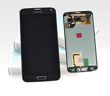 Original Samsung Galaxy S5 noir bleu SM-G900F Affichage LCD écran cadre