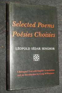 Léopold Sedar Senghor: Selected Poems/Poésies Choisies) 1976-1st, Senegal Poetry