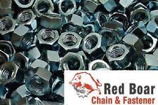3/8-16 Finished Hex Nuts  Zinc Plated 200 pcs 3/8