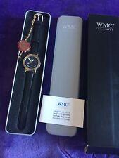 BNIB Men's WMC Black Leather Strap Watch (lifetime Guarantee)