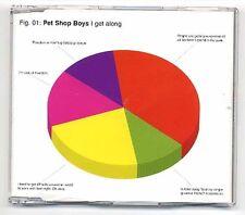 Pet Shop Boys Maxi-CD I Get Along CD1 - EU 5-track incl. Video