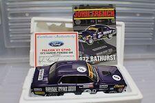 1-18 Ford Falcon XY GTHO 1972 Bathurst 2nd Place #5D John French inc flyer.