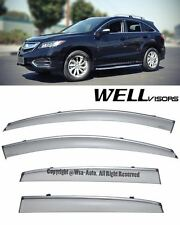 For 13-16 Acura RDX WellVisors Side Window Visors Rain Guard