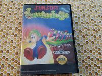 Lemmings - Authentic - Sega Genesis - Case / Box Only!