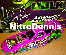 NHRA CRUZ PEDREGON 1:24 Diecast NITRO Funny Car THE HULK 03 ADVANCED AUTO PARTS