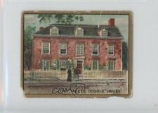 1910 Helmar Historic Homes Tobacco T69 #YADO The Yankee Doodle House Card 2h8