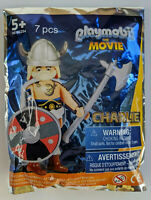 Playmobil The Movie - Charlie in Viking Outfit - Figure Man - 7 pieces - New