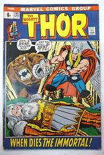 Thor 198 buscema 1972 marvel comics uk