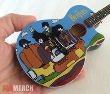 Mini Guitar Beatles Collectible Yellow Submarine Memorabilia Acoustic Guitar