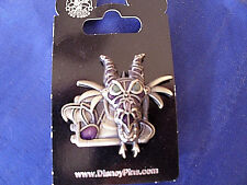 Disney * MALEFICENT / DRAGON - STEAMPUNK * Villain - New on Card Trading Pin