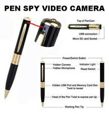 Ballpoint Ink Pen Spy Video Camera Hidden Cam Photo Recorder DVR 8GB Pinhole NEW