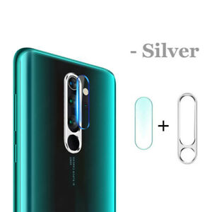 For Xiaomi Redmi Note 8 Pro Tempered Glass Lens Protector&Camera Lens Ring Cover