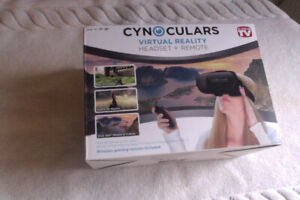 Virtual Reality Cynoculars Headset + Remote