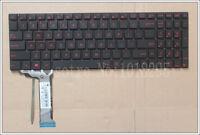 ASUS G551 G551J G551JK G551JM G551JW G551JX G551VW backlit English keyboard US