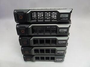 Lot of 5 Dell 3.5 0F238F HDD Caddy  -QTY}