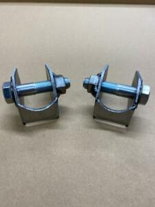 Gartrac Shock Absorber Brackets + Bolts - Grp 4 - Atlas Axle - Escort MK1/Mk2