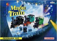 catalogo Fleischmann Magic Train Programm 1993             F E NL            aa