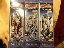ABERRATIONS BOOSTER PACK MINIATURES GAME D&D DUNGEONS & DRAGONS NUOVO RARO