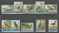 s36664 SAN MARINO 1960 MNH**  Uccelli Birds 10v