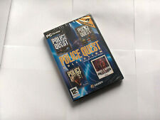 Police Quest Collection 1,2,3,4 PC Windows Sierra CD-ROM English Neu New