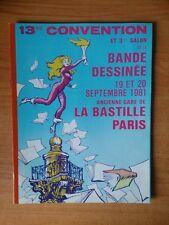 13me CONVENTION ET 3me SALON DE LA BANDE DESSINEE 19 et 20 septembre 19