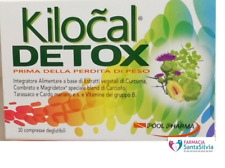 KILOCAL DETOX 30 cpr - NOVITA' - POOL PHARMA - Originale Farmacia con Scontrino