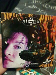 CD Die Ärzte Friedenspanzer 2 Track CD Rarität