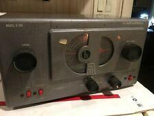 Vintage Hallicrafters receiver model S-38C