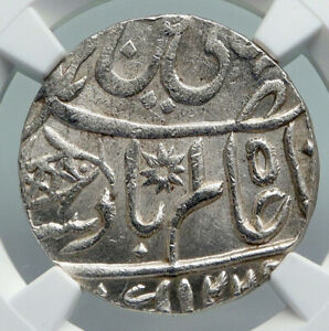 1812 1229AH INDIA Princely States BENGAL Presidency Silver Rupee NGC Coin i91326