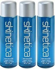 3 x Skinetica Anti Blemish Super Toner Acne Treatment  70ml