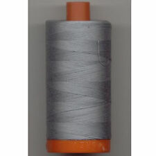 Aurifil Thread #2610 Light Blue Grey Cotton Mako 50 wt 1422 yard spool
