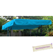 Aqua Water Resistant 2 Seater Replacement Canopy for Garden Hammock Swing Seat