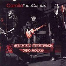 Todo Cambio (Edicion Especial) [CD & DVD] by Camila