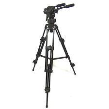 Professional Video Tripod DynaSun EL9901 Heavy Duty w/ Fluid Pro Video Head, Bag
