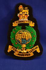 Royal Marines Commando Blazer Badge Green & Gold bullion