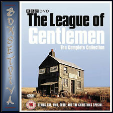 THE LEAGUE OF GENTLEMEN - COMPLETE SERIES 1-3  PLUS XMAS SPECIAL **BRAND NEW DVD