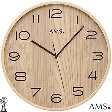 AMS 50 Radio Reloj De Pared Cocina oficina Ø 32cm 170