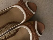 Killah Wedges Size 39/6 Tan