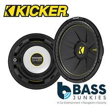 "KICKER 44CWCS104 10"" 25cm 600 Watts Single Voice Coil Car Van Boot Sub Subwoofer"