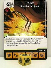 Dice Masters - #126 Ranx Blot Out the Stars - War of Light