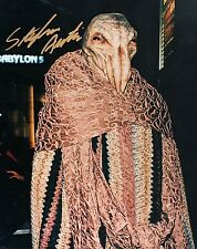 Stephen Austin as Pak'Ma'Ra Ambassador in Babylon 5 (1994) 8x10 Autographed
