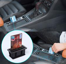 FIT FOR VW GOLF 7 GTI MK7 CAR CARD HOLDER COIN SLOT CASE STORAGE BOX BIN CUP