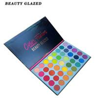 Beauty Glazed 39colors Lidschatten Lidschatten Palette Waterproof Gitter Ma F7I1