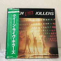 QUEEN LIVE KILLERS P-5567~8E  Vinyl 2LP Japan W/OBI