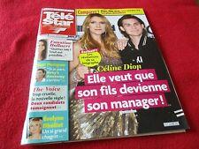 """TELE STAR N°2117 - 2017"" Celine DION, Louane, Mireille DARC, Thierry LHERMITTE"