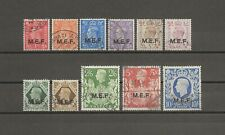 More details for boic/mef 1943-47 sg m11/21 used cat £20
